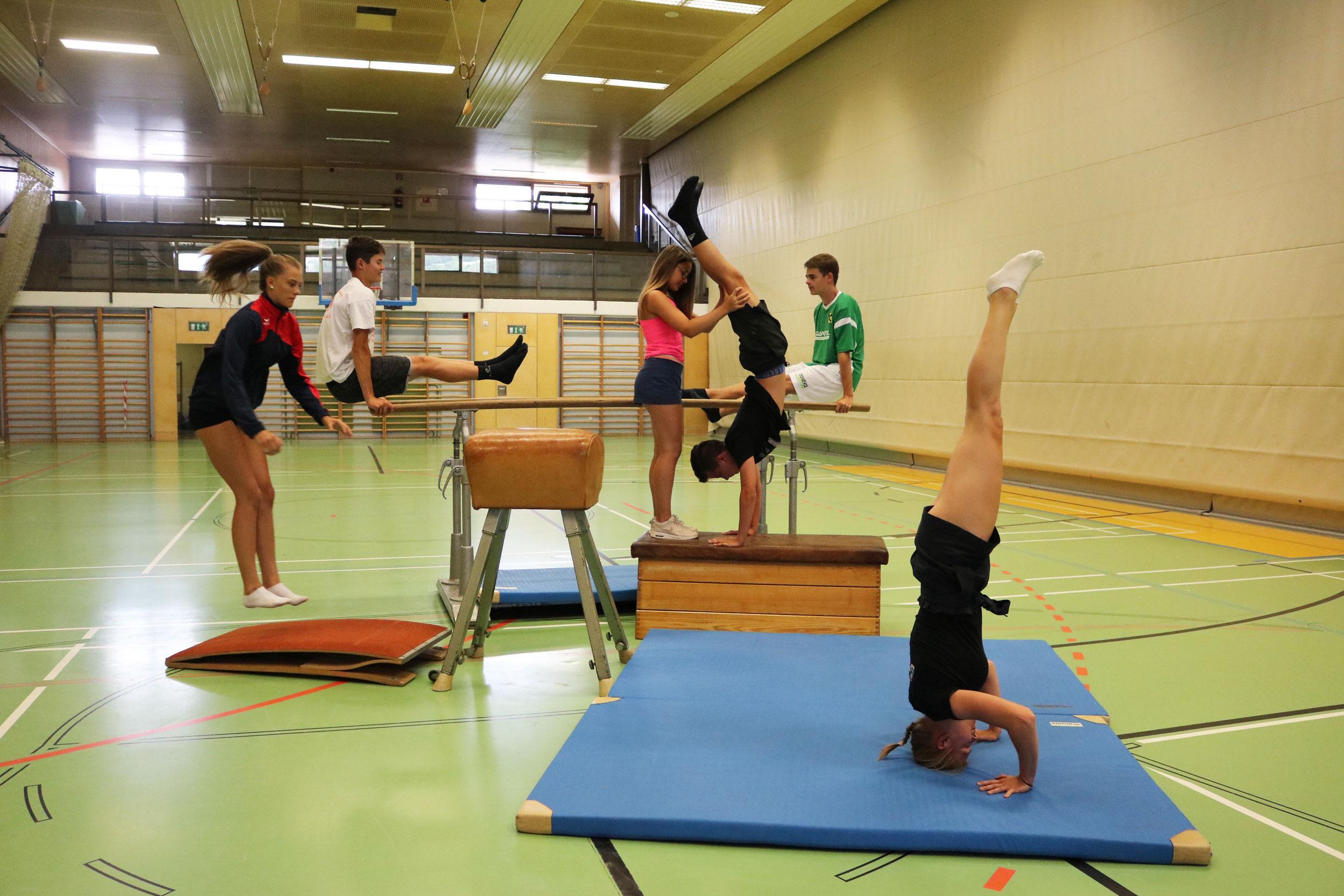 Sport am Gymnasium Hartberg