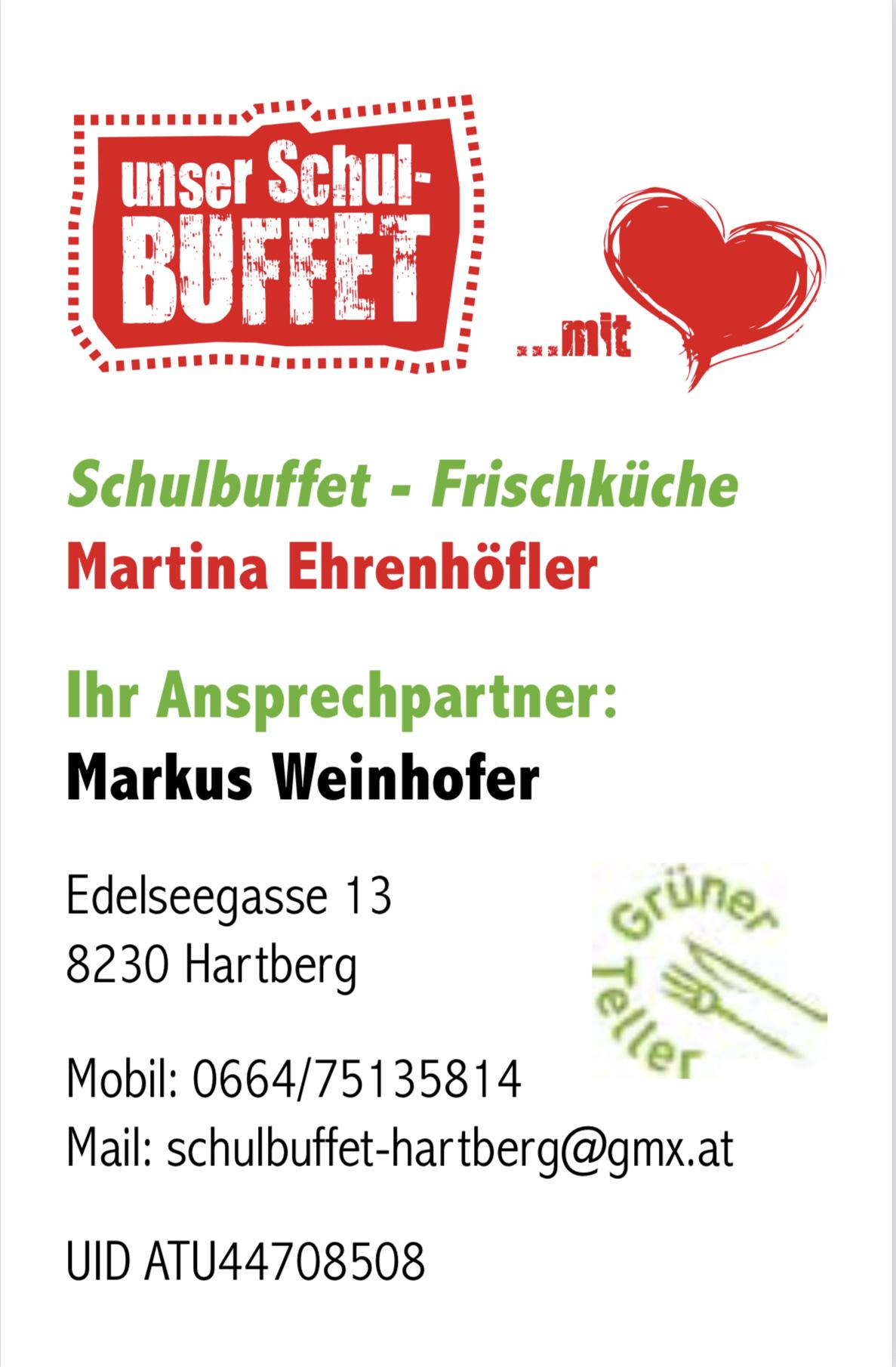 Schulbuffet - Martina Ehrenhöfer