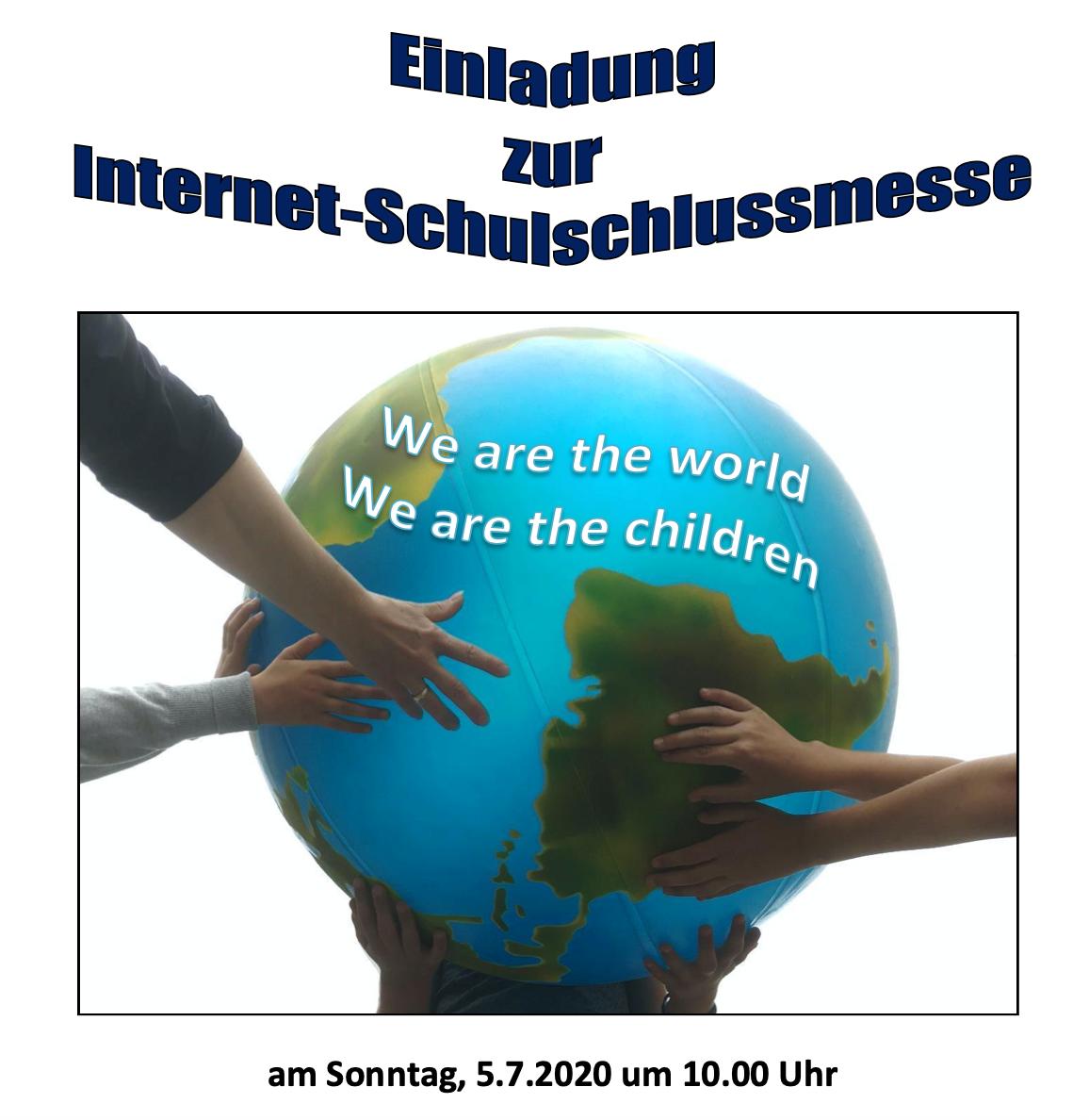 Internet-Schulschlussmesse