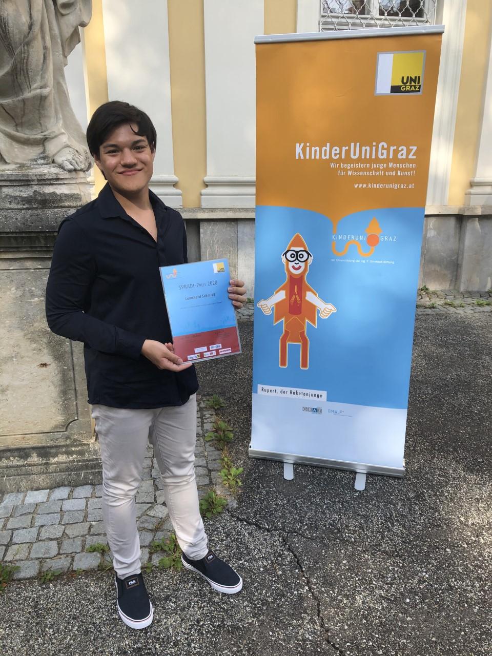 Beste fremdsprachige VWA der Steiermark (SPRADI-Preis)